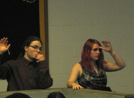 Pictures from Mock Congress 2011