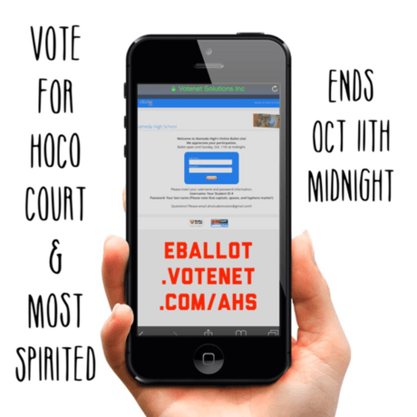 Hornet Homecoming--Vote Now!