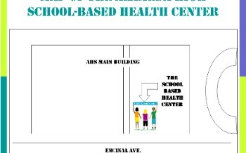 Map of SBHC at AHS